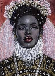 black elizabethian queen