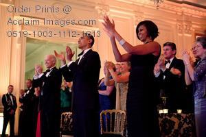 obama Standig ovation