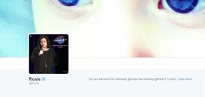 rosie blocked me