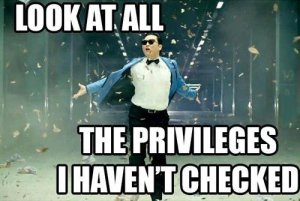 all the privilege unchecked