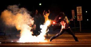 flag tear gas