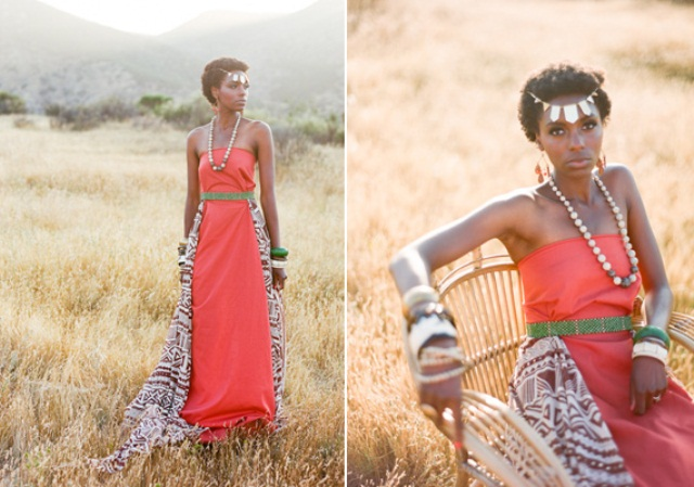 African Wedding Gowns: Can An African American Appropriate African Culture? Can A