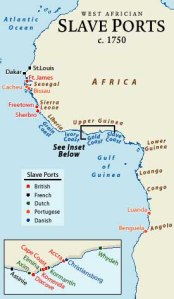 africa slave ports