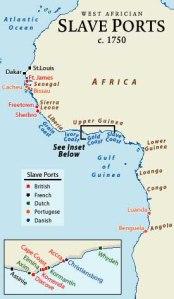 africa slave ports